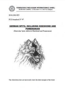 FCI Standard Spitz, Keeshond, Pomeranian