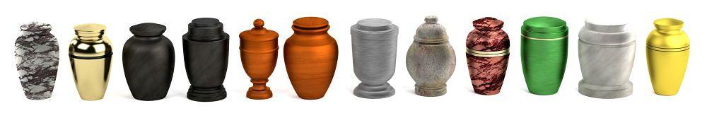 Spitz in Urne aufbewahren