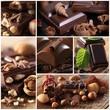 Cioccolato - collage